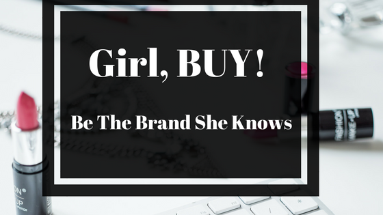 Girl, BUY! OFFICIAL COVER